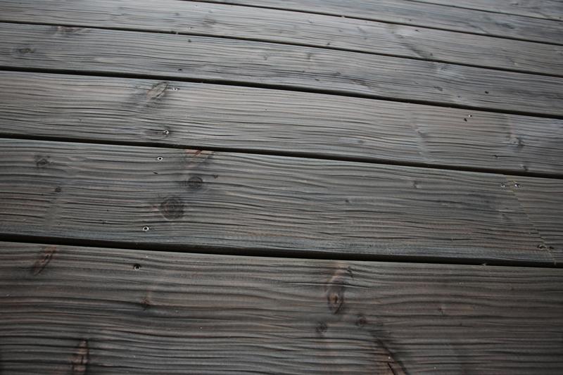 Lame de terrasse profil déstructuré gris